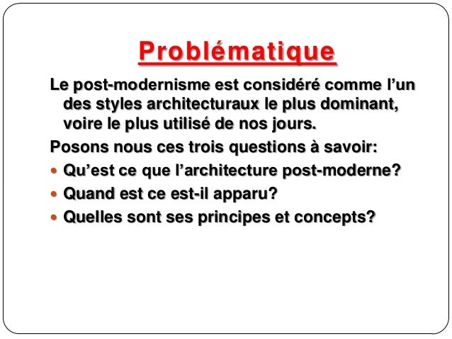 Post moderne 02 for Modernisme architecture definition