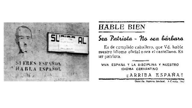 """Rompente  (1975-‐1983):  """"Aviso:  un  fantasma  recorre  Galicia""""  """"Achtung:  ein  Gespenst  geht  um  in  Galicien""""  Sil..."""