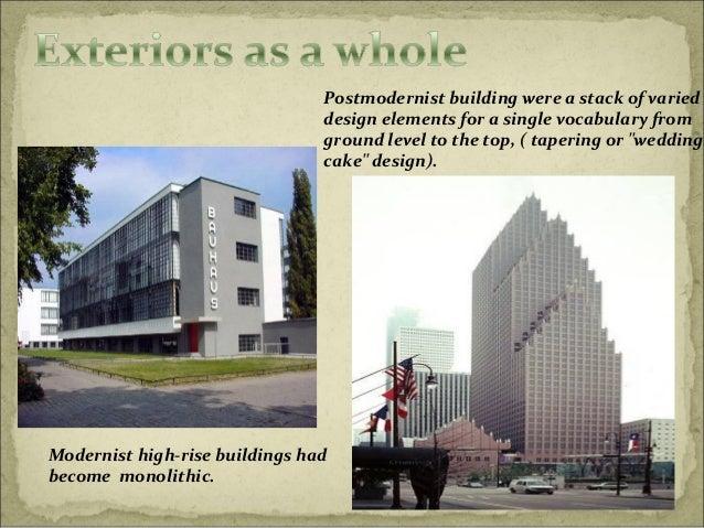 Modern Architecture Vs Postmodern Architecture famous postmodern architecture