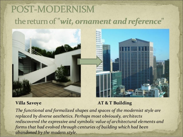 Modern Architecture Vs Postmodern Architecture post-modern architecture and the architects involoved in it.