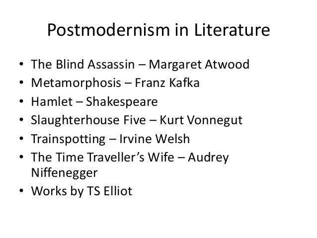Intro to Postmodernism