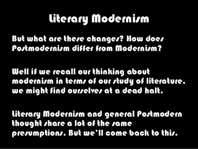 Capitalism modernism and postmodernism