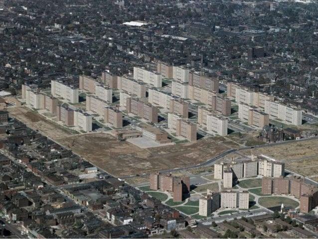 Pruitt-Igoe Housing Project, St. Louis, Missouri, 1954MODERNISM