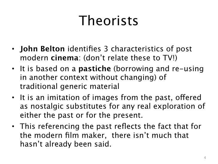 modern and postmodern theory Resources for the post-modern world the most significant developments of postmodern theory have taken place in france and it is upon french postmodern theory.