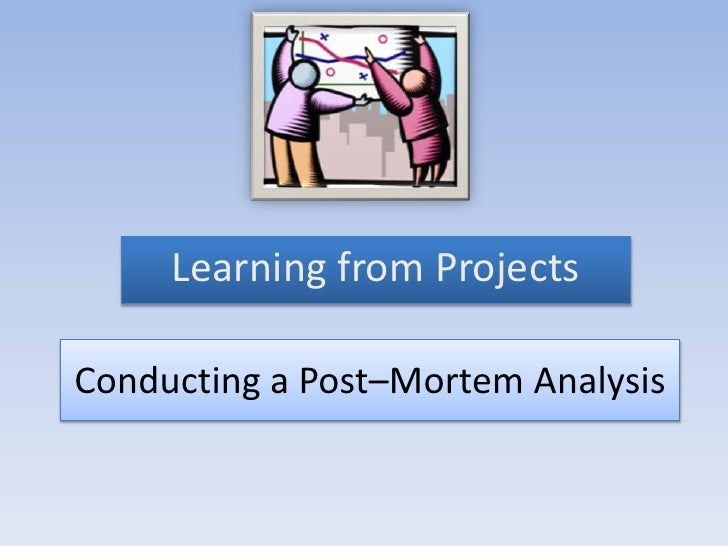 project management post mortem template