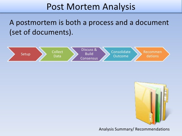 postmortem report template