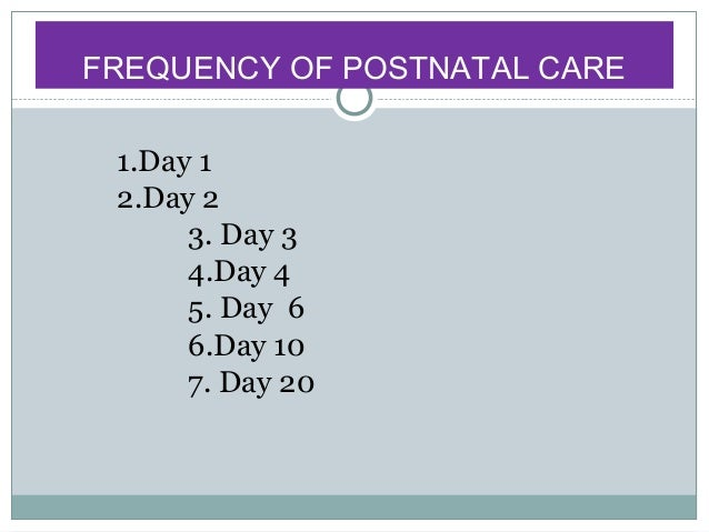 postnatal care Postpartum care after a vaginal delivery involves managing vaginal soreness and discharge, sore breasts, mood changes, and more.