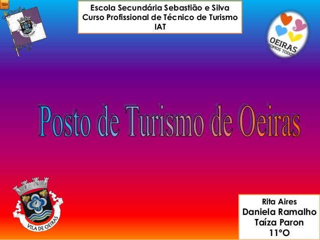 Escola Secundária Sebastião e Silva Curso Profissional de Técnico de Turismo IAT Rita Aires Daniela Ramalho Taíza Paron 11...