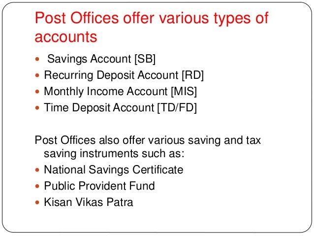 saving insurance and deposit account essay