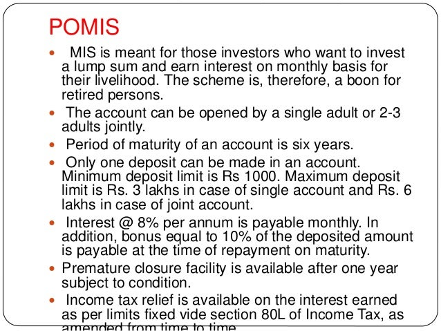 Post office sb fd rd insurance schemes - Post office joint account ...