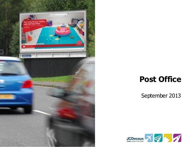 Post Office September 2013