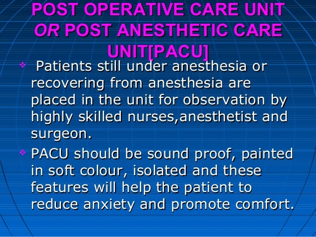 post operative nursing care The shift from inpatient care to care at the patients' own home postoperative recovery from the perspective of day surgery patients: a phenomenographic study.