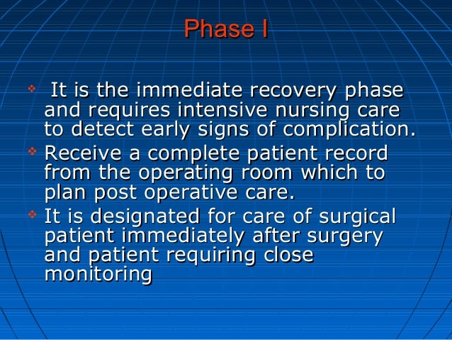 Post Anesthetic Recovery Room Nurse What Does A Nurse
