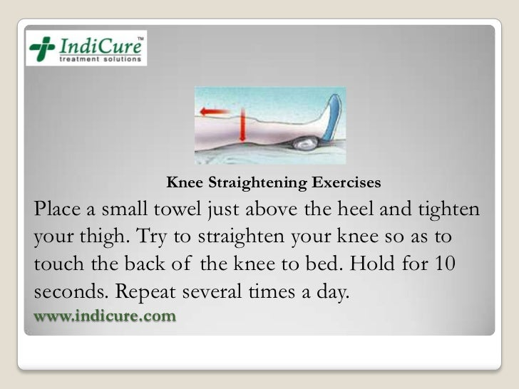 Post Operative Exercises After Total Knee Replacement Surgery
