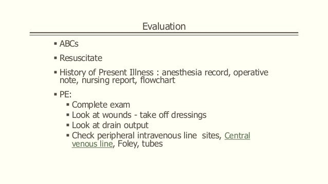 References  Bailey & love's  Clinical Surgery SECOND EDITION  The Canadian Journal of CME / May 2004