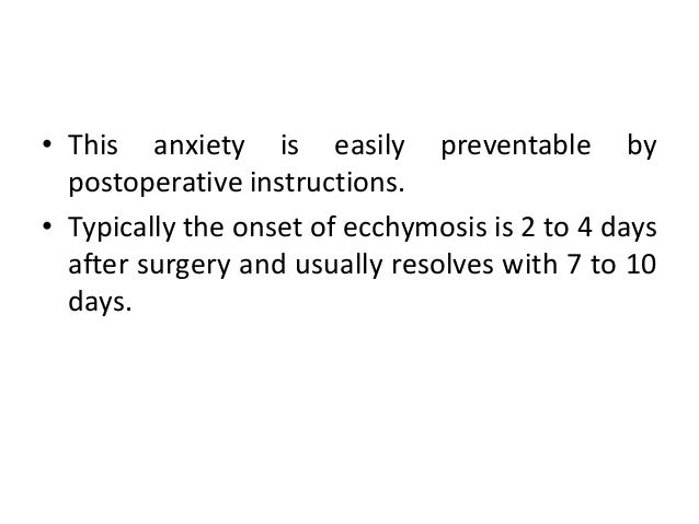 oral surgery post op instructions