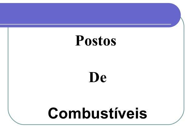PostosDeCombustíveis