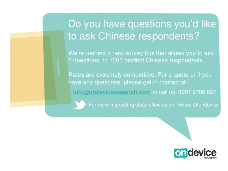 Do you have questions you'd liketo ask Chinese respondents?We're running a new survey tool that allows you to ask5 questio...