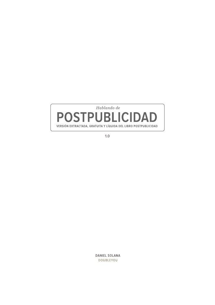 Postpublicidad Slide 3