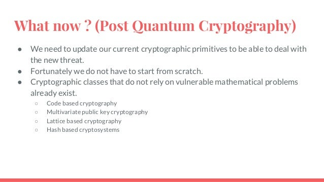 quantum cryptography thesis Cryptography, cs, and quantum computing research programme testing 1 introduction here are the transparencies from my eurocrypt 2003 rump session talkioffered to post.