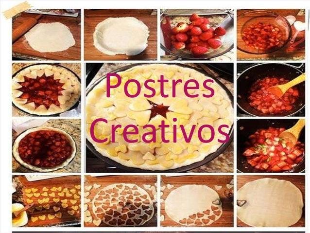 Postres Creativos