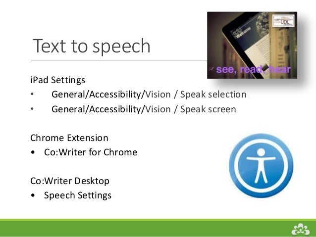Apps  •Readability Score  •Symbol Support  •iReadWrite  Chrome Extensions  •Google Dictionary  •Read&Writefor Google  Othe...