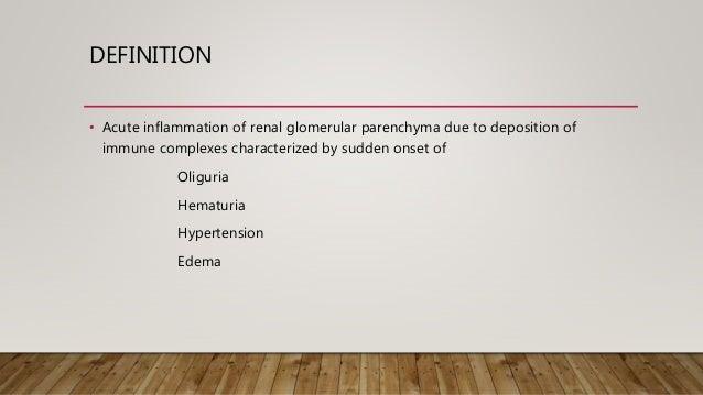 Post streptococcal glomerulonephritis  Slide 2