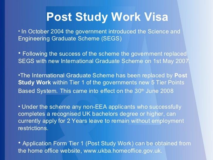 News Post Study Work (PSW) Visa in the UK - Recent News