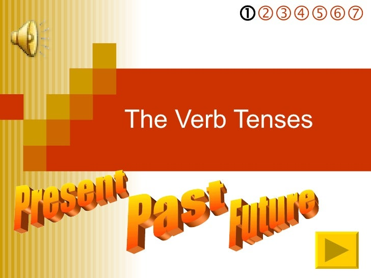 The Verb Tenses Present    Past  Future
