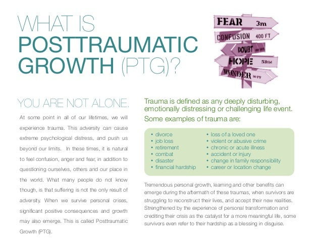 Posttraumatic Growth: From Surviving To Thriving