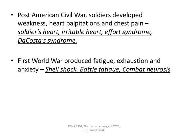 Did Civil War Soldiers Have PTSD?