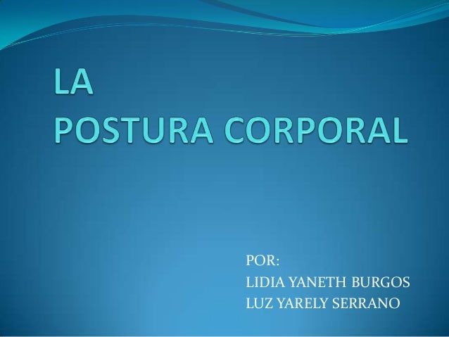 POR: LIDIA YANETH BURGOS LUZ YARELY SERRANO