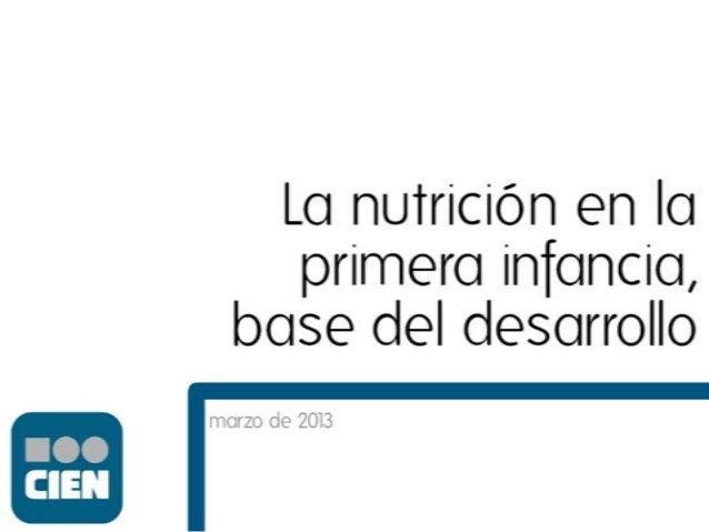 Postura 7:  La desnutrición crónica es una condena de por vida