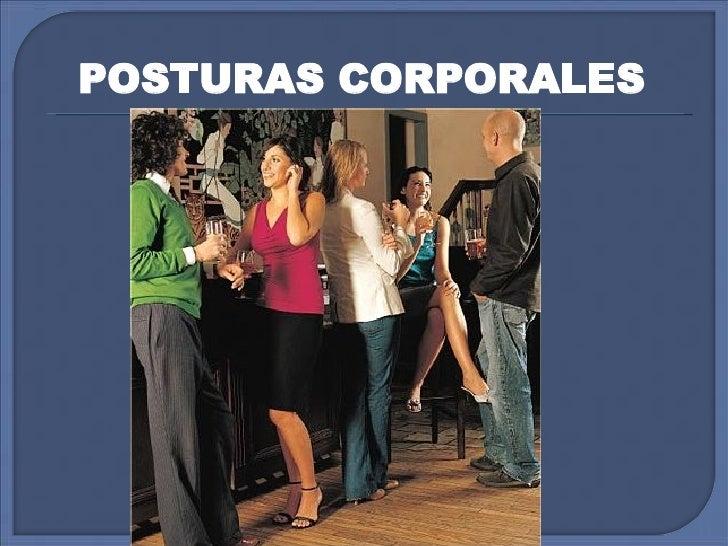 POSTURAS CORPORALES