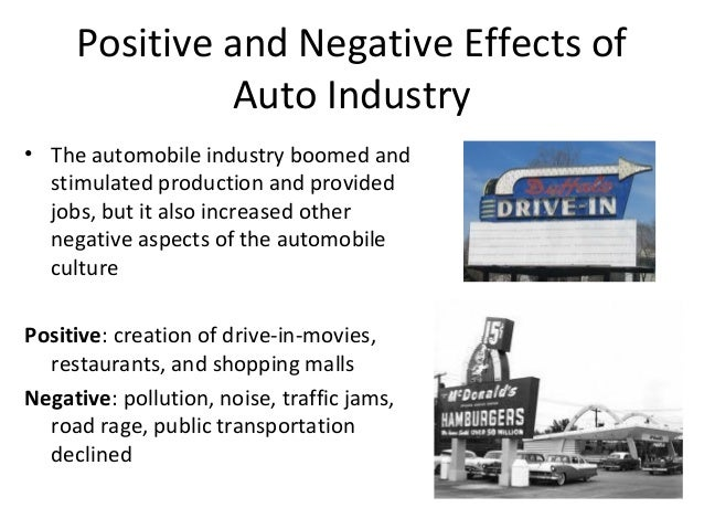 negative effects of transportation Transportation economics/negative externalities results in increased demand for public schools and libraries—this is clearly an indirect effect of transportation.