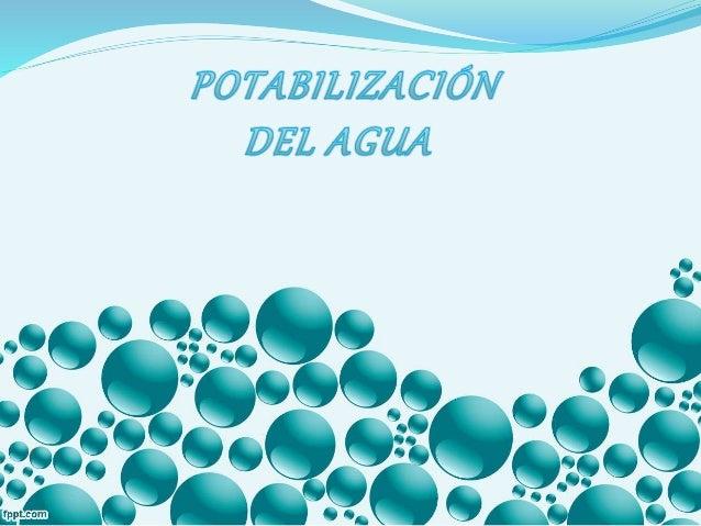 Para que el agua pueda ser apta para el consumo humano, requiere de un minucioso análisis químico, para ello se debe trat...