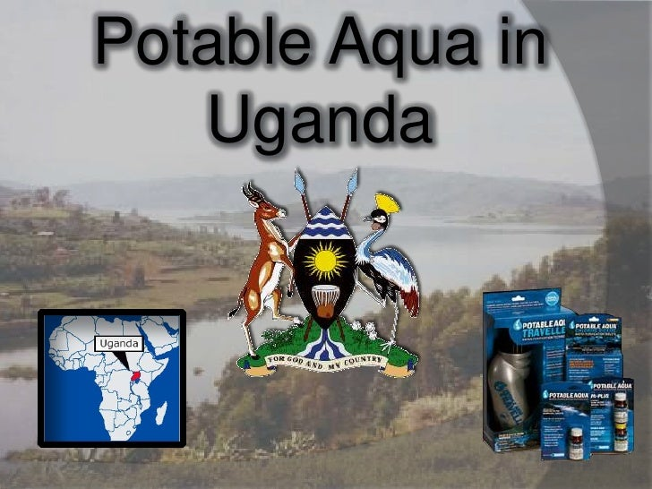 Potable Aqua in Uganda<br />