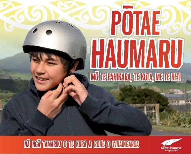 Pōtae  Haumaru  mō te Pahikara, te Kuta, me te Reti  Nā ngā tamariki o Te Kura a Rohe o Whaingaroa