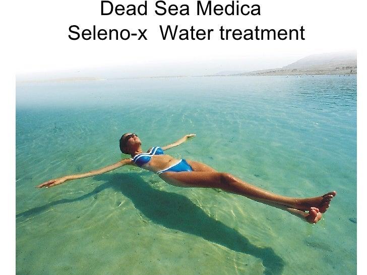 Dead Sea Medica   Seleno-x  Water treatment