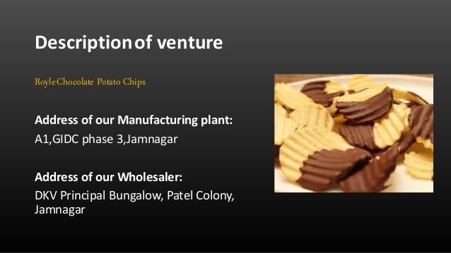 potato chips business plan pdf