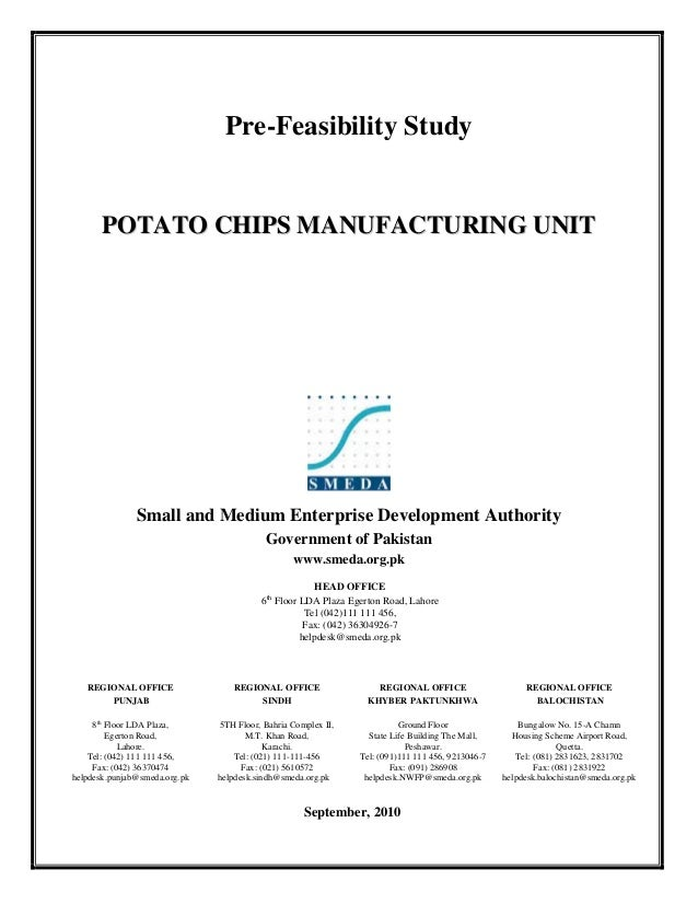 How to Start a Potato Chips Business