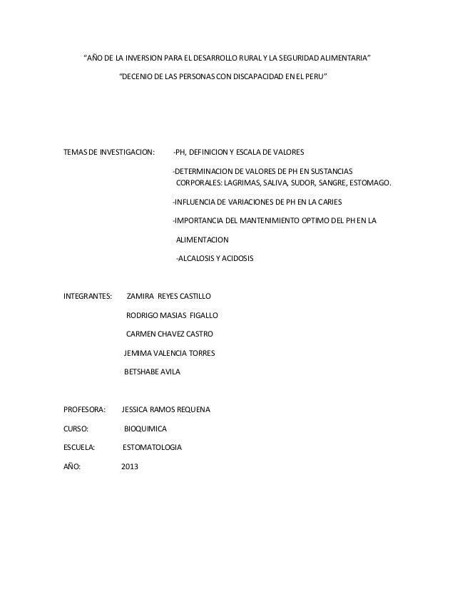 """""""AÑO DE LA INVERSION PARA EL DESARROLLO RURAL Y LA SEGURIDAD ALIMENTARIA"""" """"DECENIO DE LAS PERSONAS CON DISCAPACIDAD EN EL ..."""