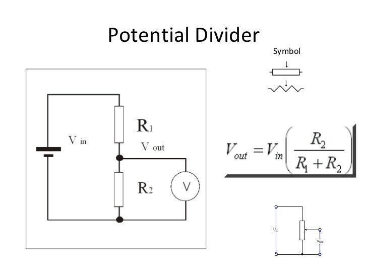 Potential Dividers Oscilloscope And Revision Activitiesppt