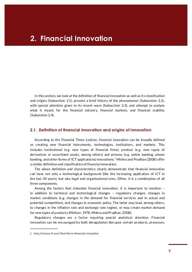 financial innovation and monetary polic Ch 20-23 questions  if financial innovation causes money to fall,  would a monetary policy that fixed the growth rate of money work.