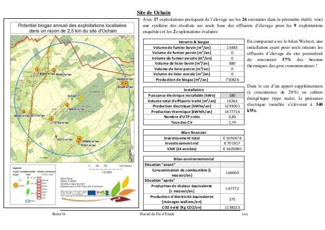 Site de Ochain              Avec 17 exploitations pratiquant de l'élevage sur les 26 existantes dans le périmètre établi, ...