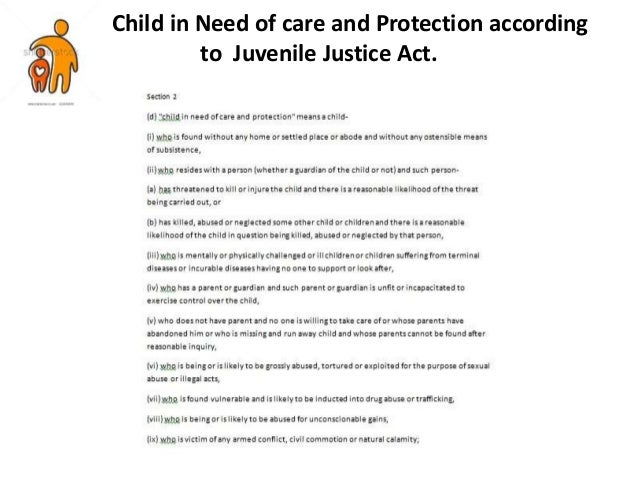 child in need of care and protection