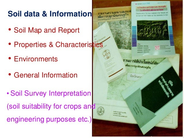 Soil maps and soil information of thailand by aniruth potichan for Soil pictures and information