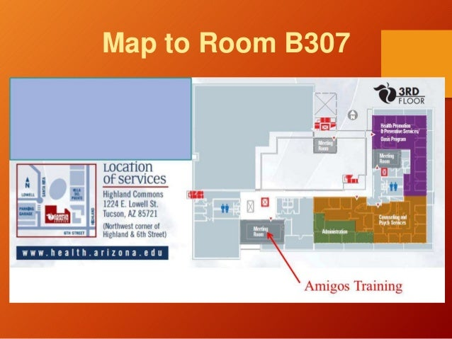 Map to Room B307