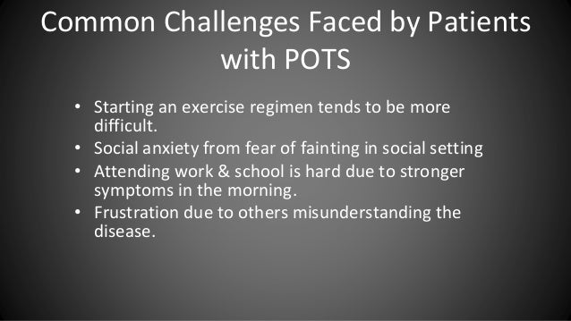 POTS Syndrome 101: An Introduction for Loved One's