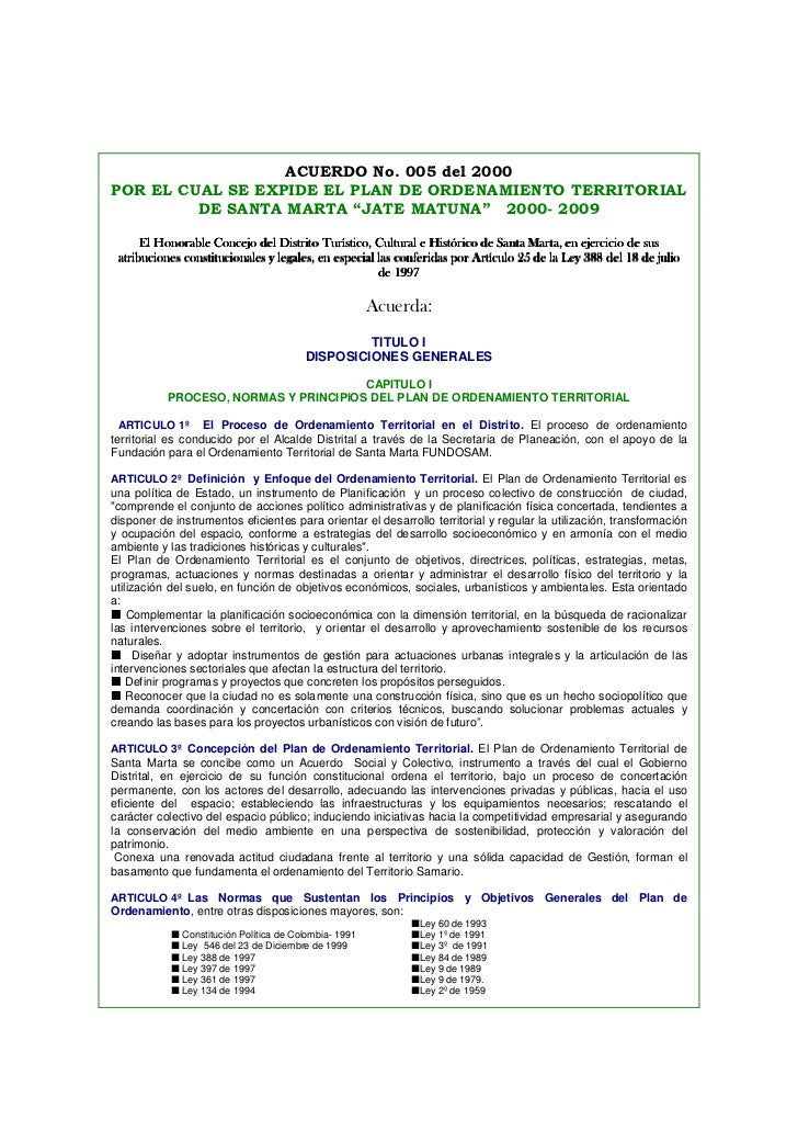 Pot santa marta for Clausula suelo acuerdo no reclamar